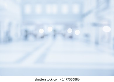 BLURRED OFFICE BACKGROUND, MODERN BUSINESS SPACIOUS HALL
