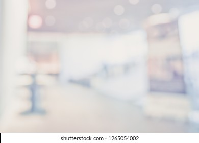 BLURRED OFFICE BACKGROUND, MODERN COMMERCIAL INTERIOR