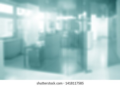 Blurred of office for presentation background. Meeting room