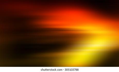 Blurred orange/fire abstract lighting/glare background.