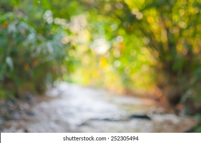 Blurred photo. Bright and dark and colorful. Background out of focus.