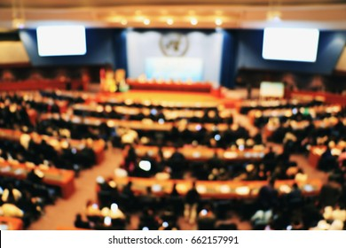 blurred photo meeting. People  meeting to share the ideas for peace.Thailand.Photo meeting and background concept idea.