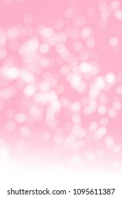 blurred pink-coloured background with white circles