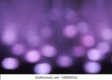 Blurred Purple Bokeh Background from Water Fountain Lightings