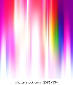 blurred rainbow colors