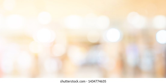 blurred  shopping mall background concept