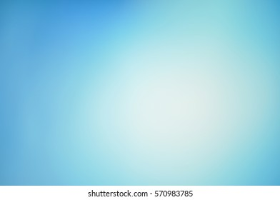 Blurred soft light blue solid background with a smooth gradient Wallpaper brochure banner