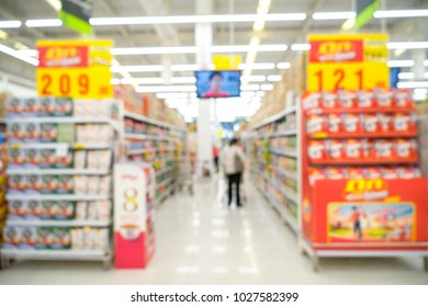 blurred of supermarket. this image for background.