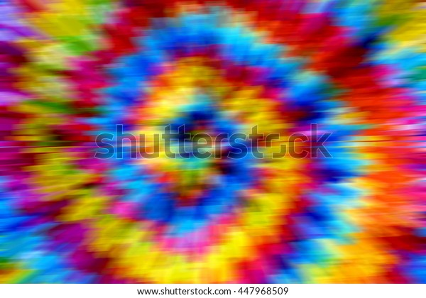 blurred tie-dye patterns of batik.made with colors filter