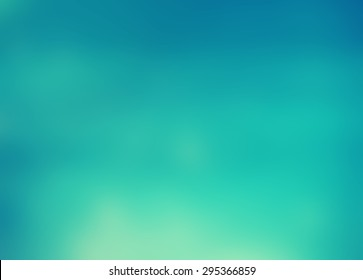 Blurred Turquoise Water Background. Summery And Fresh, With Vibrant Blue  Shades. Pool Water Home Design Ideas
