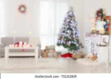 Living Room Christmas House Decorations Inside.Inside Christmas House Images Stock Photos Vectors