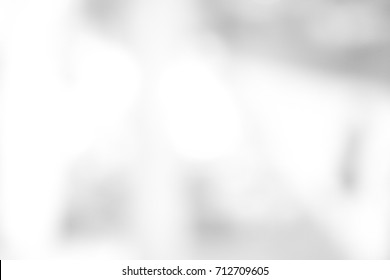 Blurred white and gray urban building white background design abstract scene light pastel with bokeh concept sky