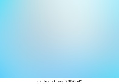 Blurry abstract blue background, gradient