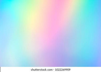 Blurry abstract holographic foil background