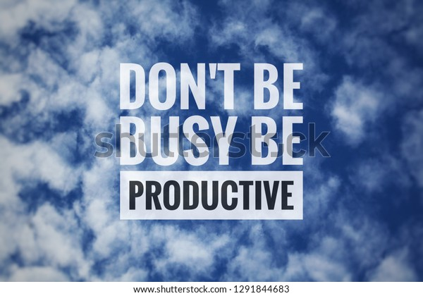 blurry blue sky clouds background motivational stock photo edit