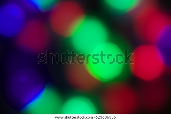 blurry color background with multicolored circles spots, DEFOCUSED