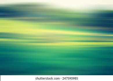 blurry field landscape with vintage mood