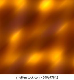 Blurry golden stripes background. Full frame blank pic. Hot fiery sunlight. Shining art graphic. Orange beam of heat. Ornate design element. Decorative gold color. Soft lights wallpaper. Stripes.