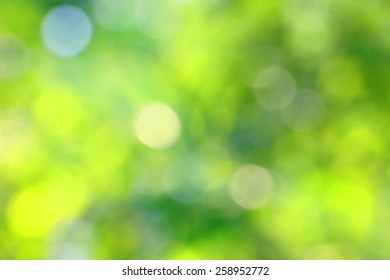 Blurry green backgrounds