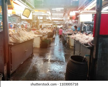 Blurry image,Market in Asia. The retail business is self-managed. , A symbol of social growth and business sme.,need blur picture
