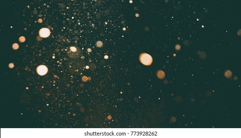 A lot of blurry lights and noise on abstract pattern