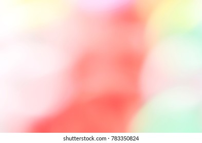 Blurry pink bokeh lights abstract backgrounds for Love and Valentine's day
