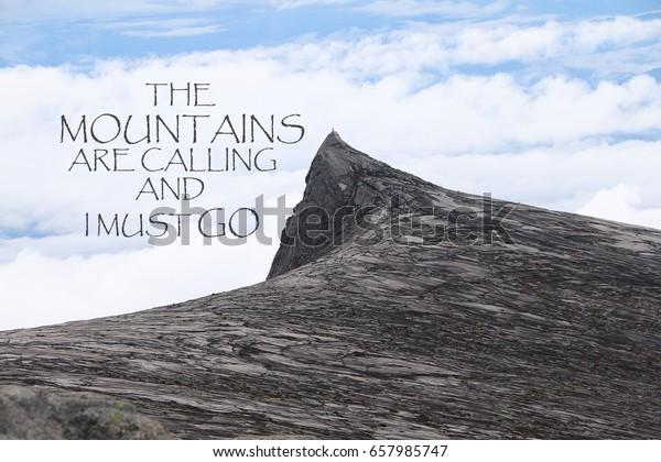blurry south peak mount kinabalu background stock photo edit now