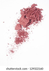 Blush isolated over white