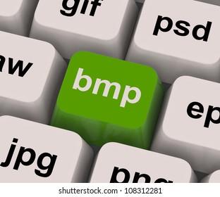 Bmp Key Showing Bitmap Format For Images