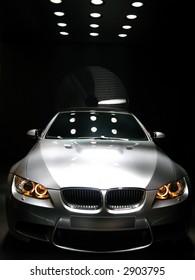 BMW M3 concept car at Geneva Auto-Show 2007