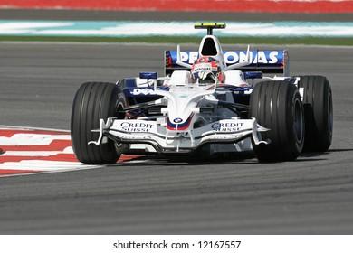 BMW Sauber's Polish F1 driver Robert Kubica
