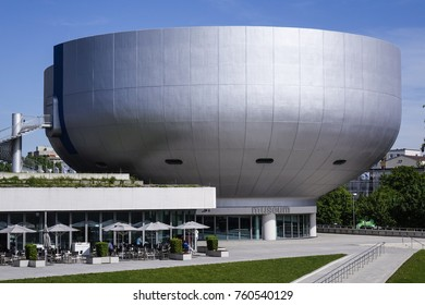 BMW-Museum in Munich, Bavaria, Germany, Europe, 21. May 2014