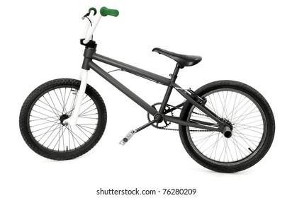 BMX bike isolated on white