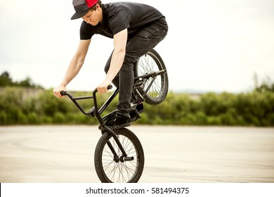 BMX footjam horizontal