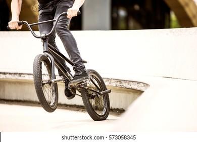 BMX jump off