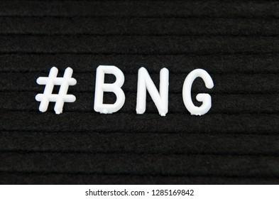 BNG, Bengali language abbreviation