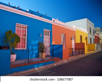 Bo Kaap, district in Cape Town, South Africa.