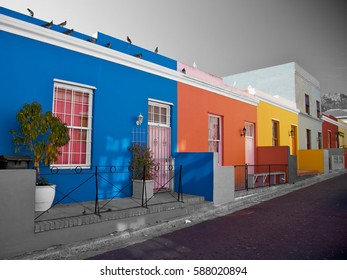 Bo Kaap, district in Cape Town, South Africa