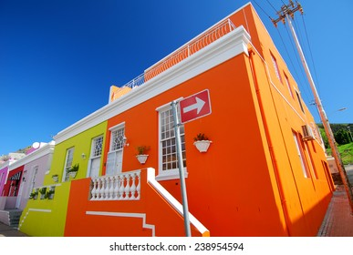 Bo Kaap houses Cape Town