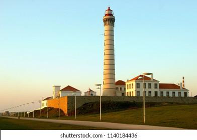 Boa Nova Lighthouse in Matosinhos, Portugal