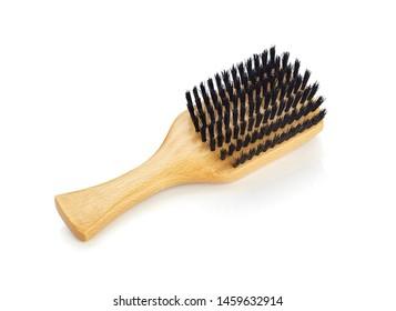 Boar hair wooden wave brush