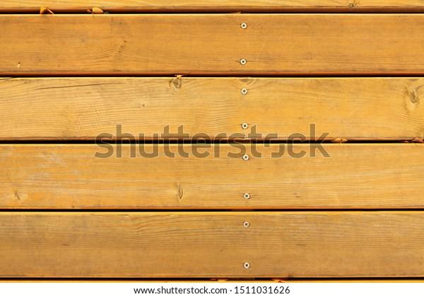 Board Flooring Crevices Nails Selftapping Screws Stock Photo Edit
