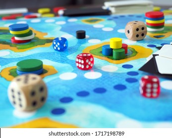 board game play table top abstract strategy fun business plan design selected focus