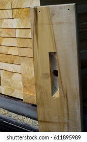 Board for the new langstroth beehives. Woodworking