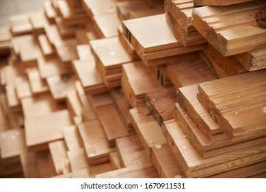 Board / panel wooden storage in stock.