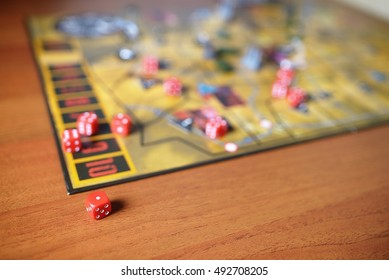 Boardgame on table