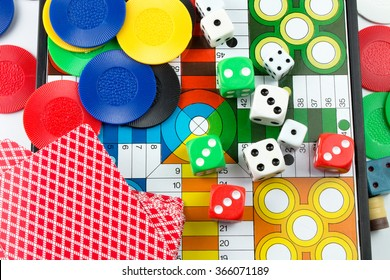 Boarding Games Play Figures.
