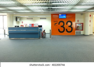 Boarding at Gate number 33.