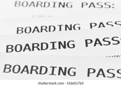 Boarding pass cards detail. Travel background. Tourist. Horizontal