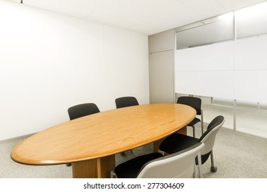 Boardroom chair and table